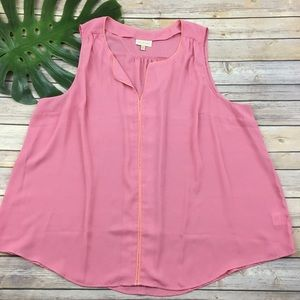 Modcloth light pink sleeveless top